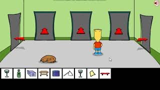 Bart Simpson Saw Game parte 1 XD