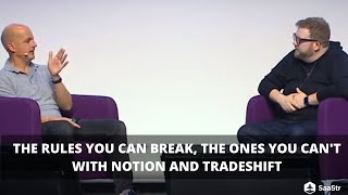 The Rules You Can Break and The Rules You Can't Break with Tradeshift