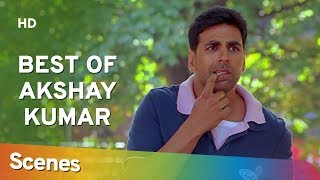 Best Akshay Kumar scenes from Bhagam Bhag – Govinda - Popular Hindi Comedy Movie