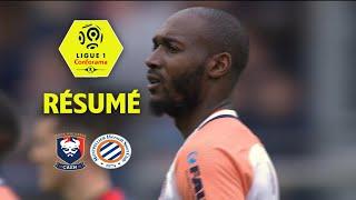 SM Caen - Montpellier Hérault SC ( 1-3 ) - Résumé - (SMC - MHSC) / 2017-18