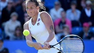 2016 Aegon International Semifinals | Karolina Pliskova vs Johanna Konta | WTA Highlights