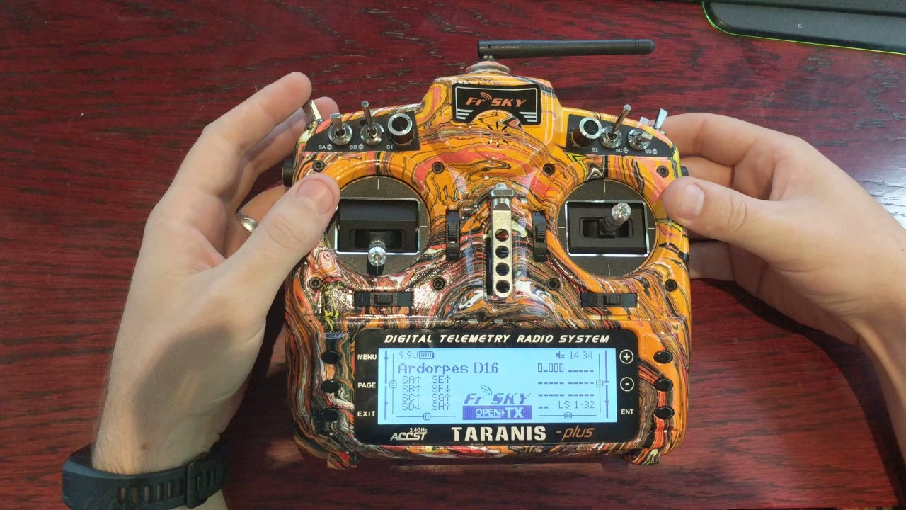 My Taranis X9D Plus Sound Pack - Open TX 2 2
