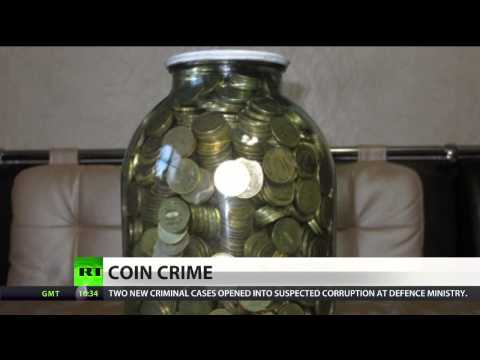 Coin Crime: Woman stole jar full of money in Russian city of Kursk