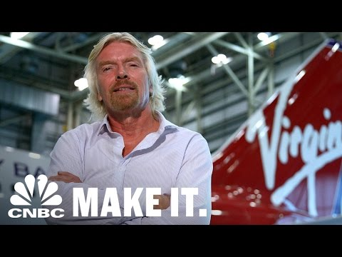 Billionaire Richard Branson Learned Business Lessons From Playing Tennis | CNBC Make It.