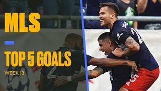 Top 5 Goals of MLS Matchweek 13: Gustavo Bou, Raul Ruidiaz and more