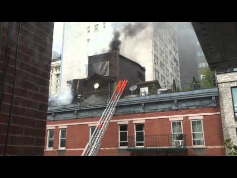 Fire at 203 East 13th Street part 2