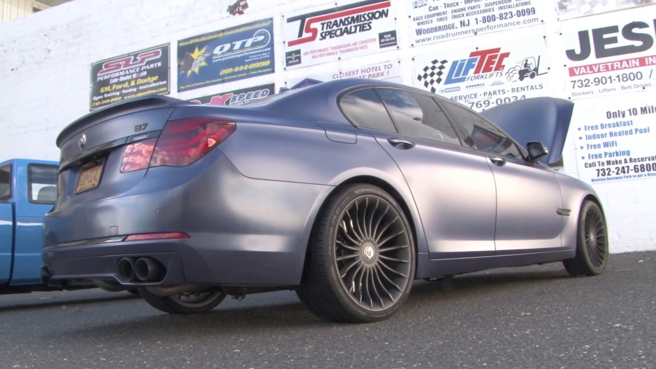 Nyces Worlds Fastest BMW Alpina B YouTube - Alpina bmw parts