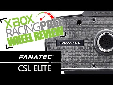 fanatec csl elite steering wheel review for xbox one youtube. Black Bedroom Furniture Sets. Home Design Ideas