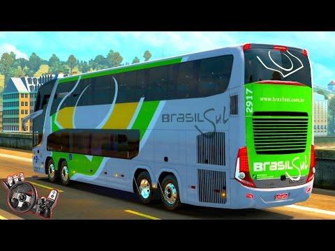 IMPRUDÊNCIA NA RODOVIA l ÔNIBUS DA BRASIL SUL - LONDRINA P/ SÃO PAULO l Euro Truck Simulator 2