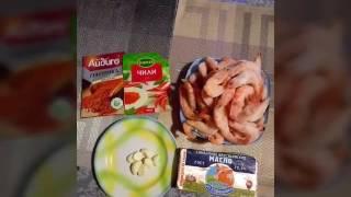 Креветки жареные в сливочном масле