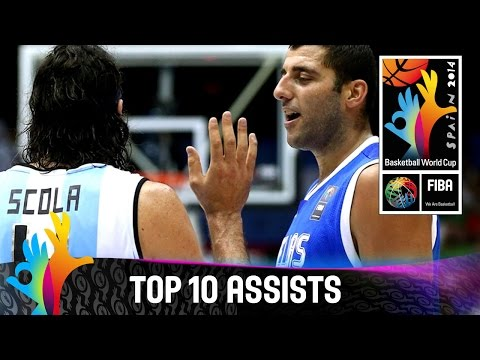 Top 10 Assists - 2014 FIBA Basketball World Cup
