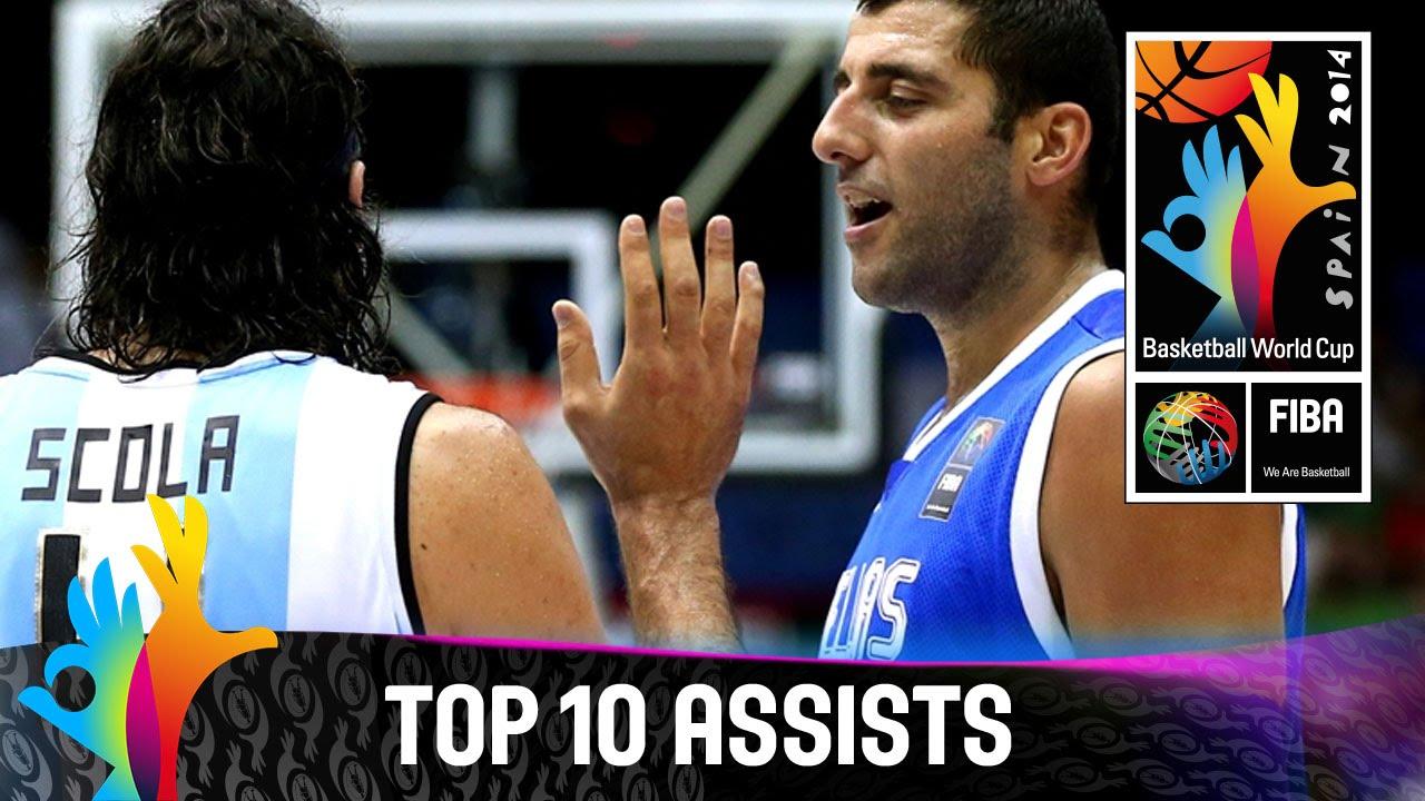 Top 10 Assists - 2014 FIBA Basketball World Cup