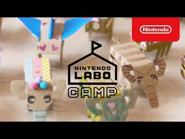 Nintendo Labo Camp ダイジェスト(東京・大阪)