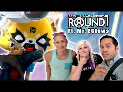 UFO catcher wins with Mr E Claws at Round 1 Moreno Valley!