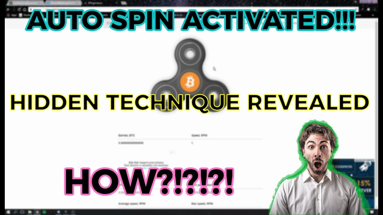 BTC SPINNER IO | THE HIDDEN TECHNIQUE REVEALED!! | AUTO SPIN MOVE