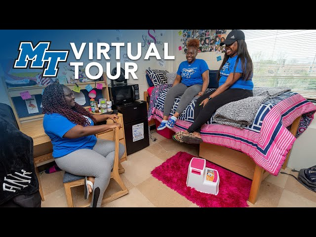 Housing and Residence Halls | MTSU Virtual Campus Tour