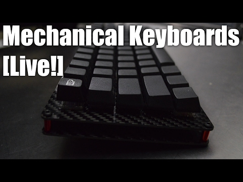 Mechanical Keyboards LIVE! - Unboxing the MK Fission and building an OLKB Preonic