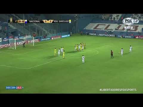 Nacional(URU) 4 x 0 Real Garcilaso(PER) | Melhores Momentos | Libertadores 2018 | (25/04/18)