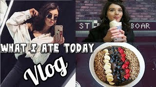 What I ate today vlog style | ChloeLock