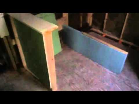 Bathroom Knee Wall Youtube