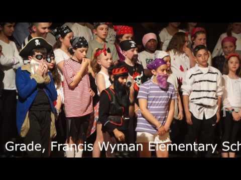 Baaree Pirate Play at Francis Wyman Elementary School