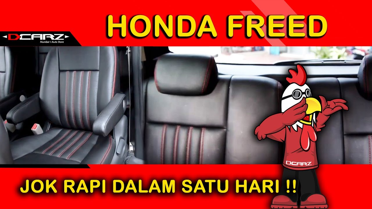 desain jok mobil honda freed car interior design for honda youtube. Black Bedroom Furniture Sets. Home Design Ideas