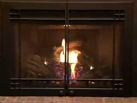 FV44i FullView Gas Fireplace Insert by Mendota Hearth