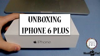 Распаковка iPhone 6 Plus  Space Grey 64 Gb [Unboxing]