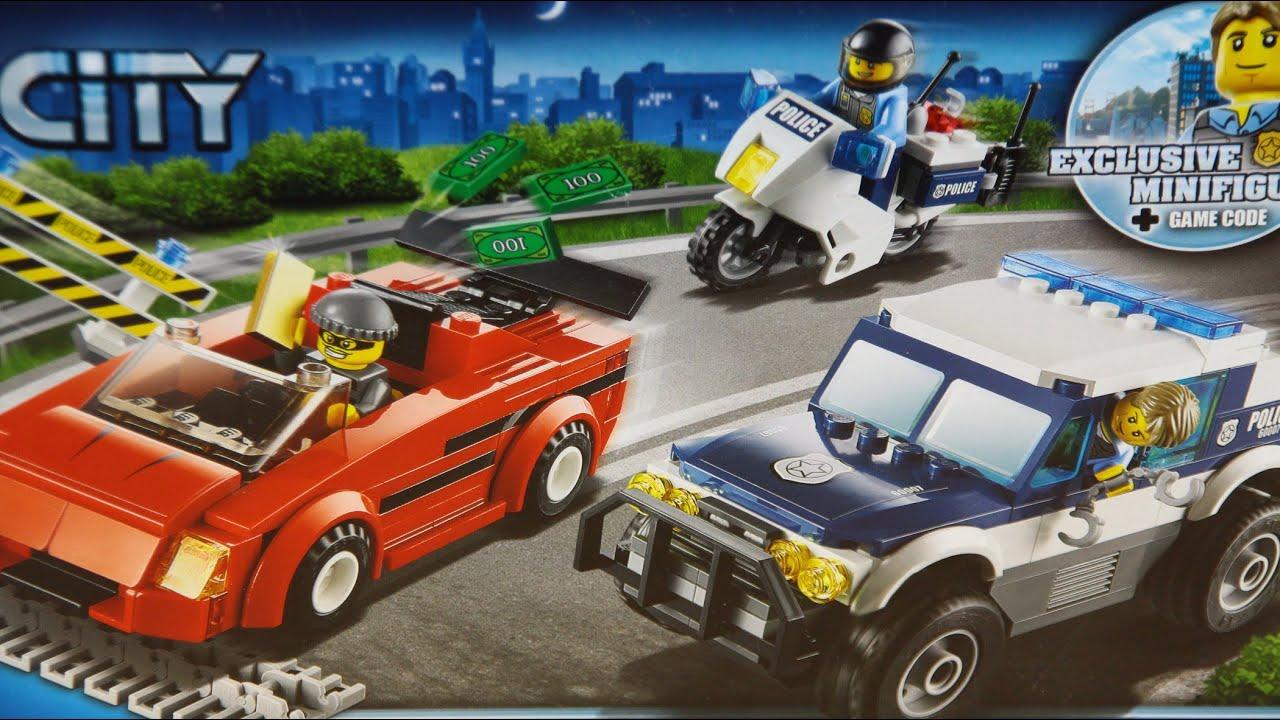 Police High Speed Chase Superszybki Pościg Lego City Www