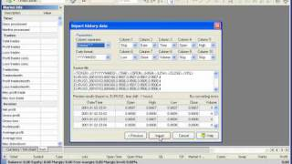 How to load historical data into Forex Tester 2