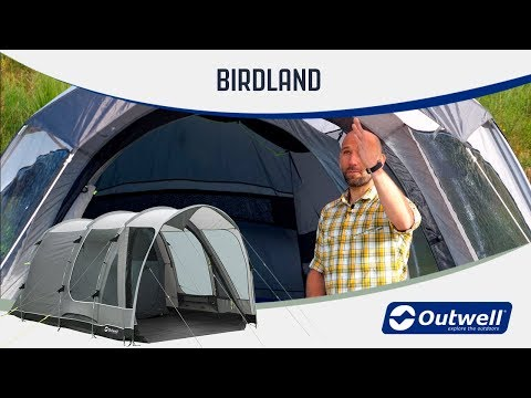 Outwell Birdland 3P & 5P Family Tent (2019) | Innovative Family Camping Gear