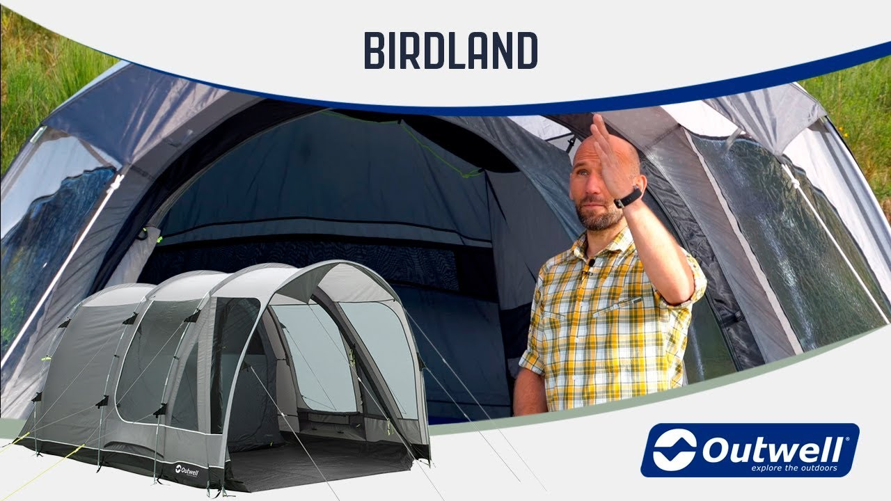 Outwell Birdland 5P Footprint 2019 Zelt Zubeh/ör