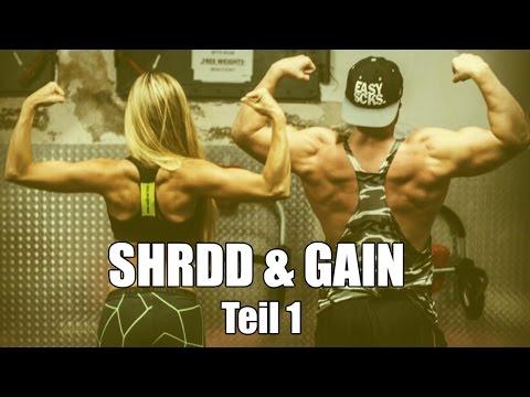 SHRDD & GAIN #1 | SELBSTVERSUCH - Fett verbrennen und gleichzeitig Kraft und Muskeln aufbauen ?!