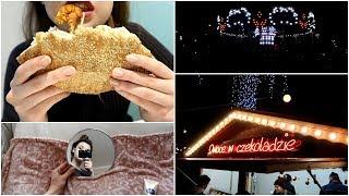 VLOGMAS - dzień ze mną, wegański kebab & jarmark świąteczny