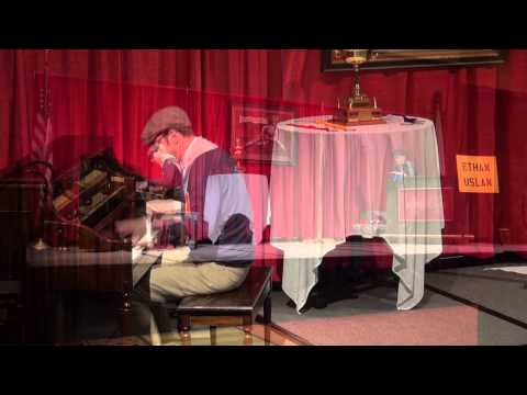 """""""Oskee Wow Wow"""", """"Chicago"""", Ethan Uslan 5-24-2015 Semifinals Old time Piano Playing Contest"""