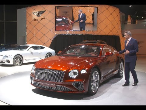 Bentley's 2017 Frankfurt Motor Show Press Conference