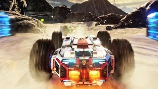 GRIP - Gameplay Trailer 2018 Combat Racing Game (PS4, Xbox One, Switch)
