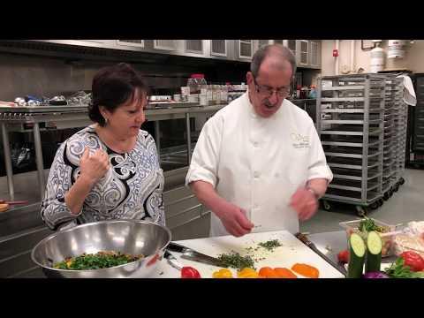 Chef John Massad and Najwa - Fattoush Salad