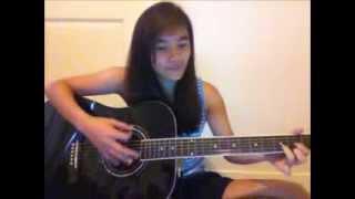 Without You - AJ Rafael (guitar cover by Alyssa De Asis)