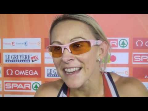 Jenny Meadows (GBR) after 800m first round