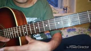 Ва банк мелодия разбор гитарада (видео урок сабак)