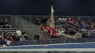 Yul Moldauer - Floor Exercise - 2020 Winter Cup Senior Prelims