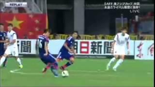 日本1VS韓国1 東アジアカップ 2015/8/5  ハイライト