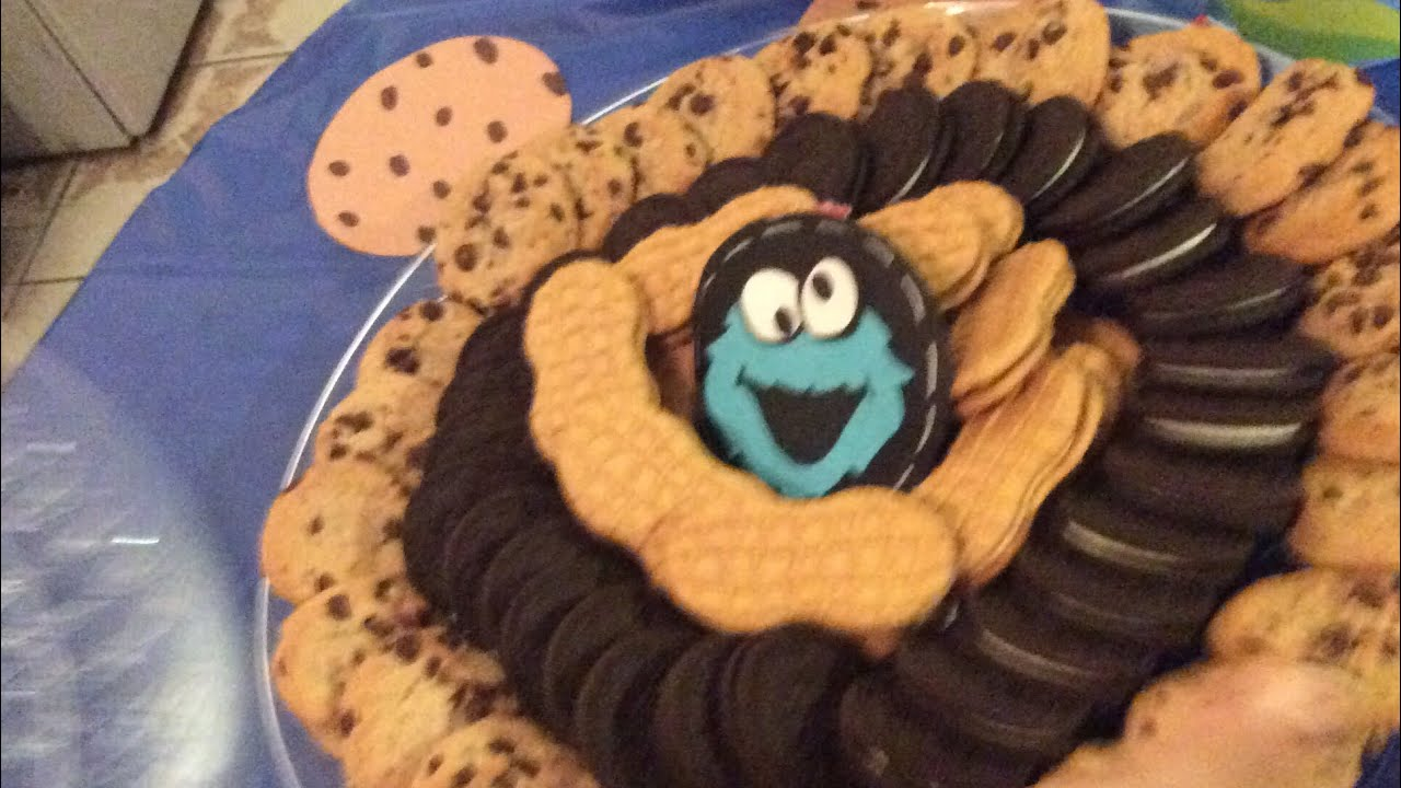 DIY Cookie Monster Birthday Party Haul