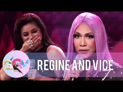 Vice Ganda and Regine's concert treat on GGV's 8th-anniversary special | GGV