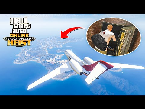 """The GTA ONLINE """"CAYO PERICO"""" SOLO HEIST In 15 MINUTES!"""