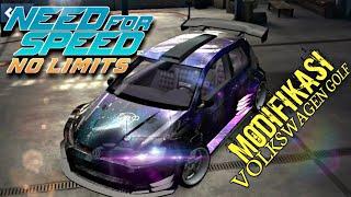 Need For Speed No Limits - Modif VOLKSWAGEN Golf GTI : Upgrade BodyKIT