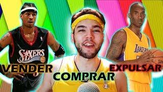 COMPRAR, VENDER O EXPULSAR - RETO NBA