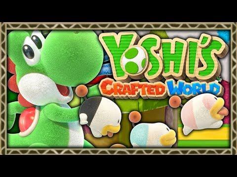YOSHI'S CRAFTED WORLD ! DÉCOUVERTE DE LA DÉMO (NINTENDO SWITCH)