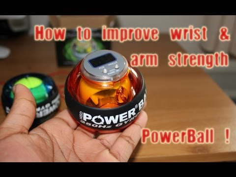 Powerball Gyroscope Exerciser Unboxing & Review